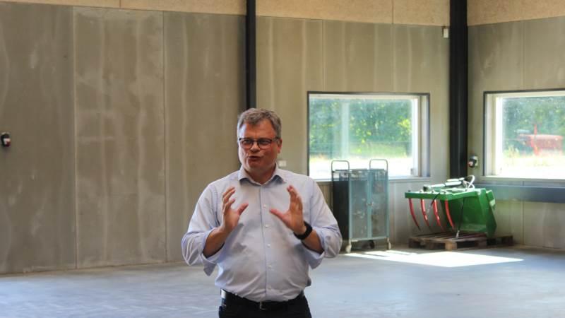 Erik Kristensen, forstander på Bygholm Landbrugsskole, ser store muligheder med en ny model for samarbejde med andre partnere. Fotos: John Ankersen