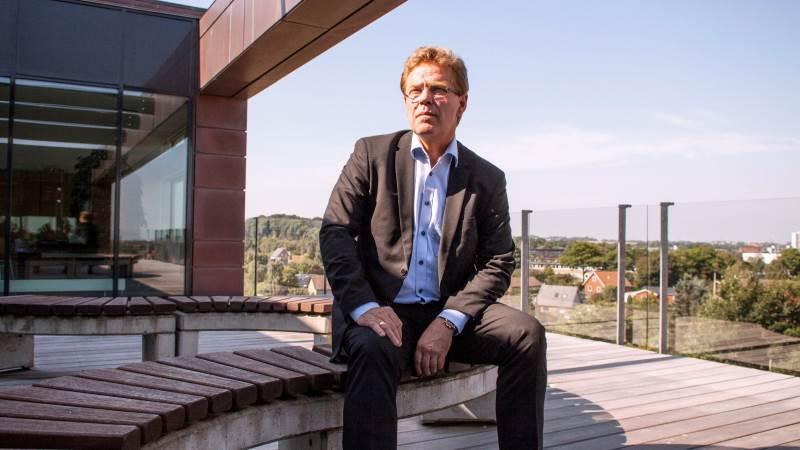 - Covid-19-krisen er den alvorligste krise, jeg har oplevet som CEO i Arla, siger Peder Tuborgh, administrerende direktør i Arla. Foto: Flemming Erhard