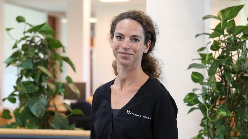 Tina Søndergaard Kristensen er bygningsrådgiver med fokus på svinestalde hos Byggeriteknik