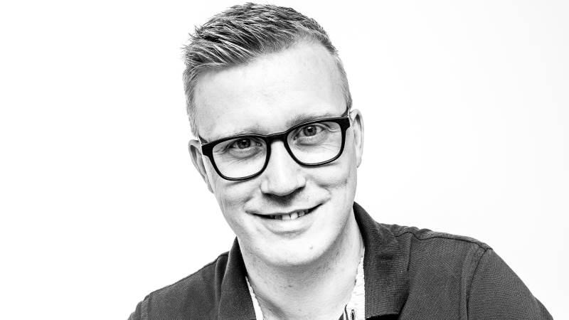 Ny kommunikations- og eventchef hos Gråsten Landbrugsskole, Jesper Kock.