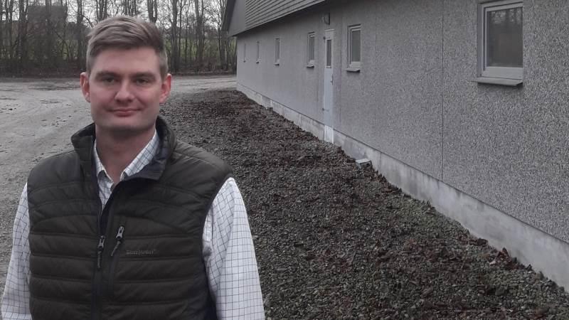 Landmandssøn Jacob Drehn fra Føllenslev er stemmen i en ny podcastserie, der hedder »Klog på gris«.
