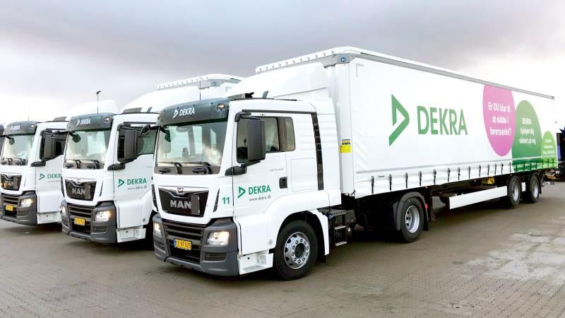 DEKRA står bag en ny jobportal for transportbranchen, der allerede den første måned formidlede flere hundrede jobs. Arkivfoto