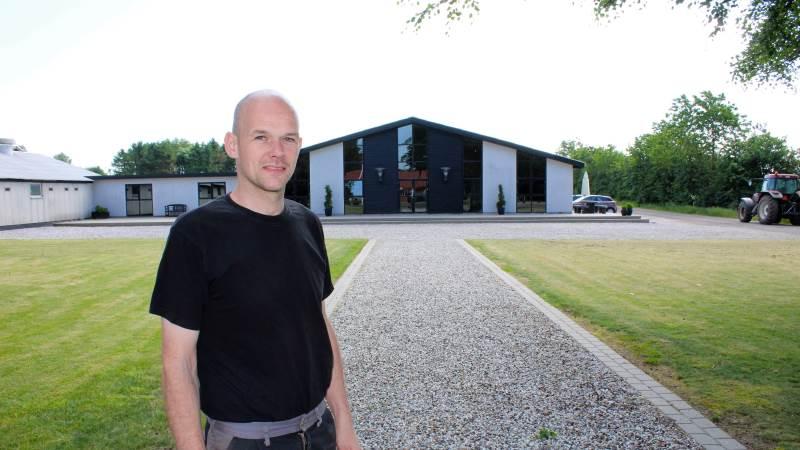 Smågriseproducent Allan V. Pedersen fra Give er valgt til bestyrelsen i Landbrug & Fødevarer Svineproduktion. Arkivfoto