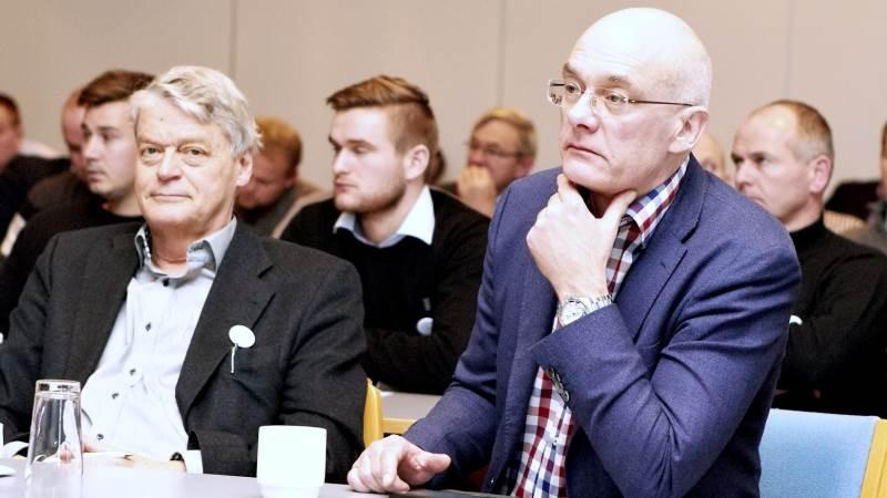 Det er advokat Gert Lund (t.h.), der fører Bæredygtigt Landbrugs sag mod staten om §3-forbud.