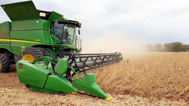 Verdens største producent af sojabønner, Brasilien, er kommet skidt i gang med årets sojahøst. Arkivfoto