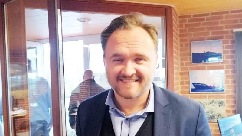 Energi- og klimaminister Dan Jørgensen mener, at hvis man ikke sørgede for en gasledning til Lolland-Falster, ville op mod 1000 arbejdspladser være i fare på Sydhavsøerne. Foto: Henning K. Andersen