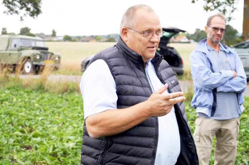 Bo J. M. Secher fra Nordic Sugar oplyser, at der i februar holdes tre virtuelle møder for roedyrkerne. Arkivfoto