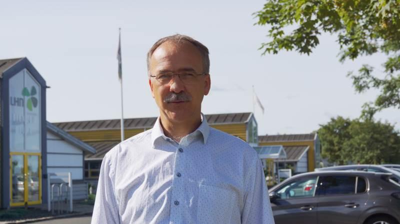 Poul Erik Hedegaard, afdelingschef Kunder og forretningsudvikling, LHN