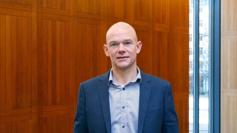 Ny næstformand i L&F Svineproduktion er Allan V. Pedersen fra Give. Foto: Seges Svineproduktion