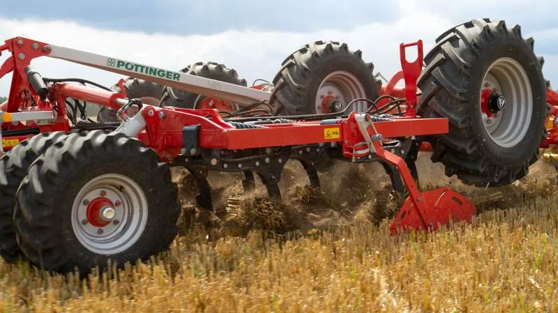 Pöttinger udvider sortimentet af sliddele til jordbearbejdning.