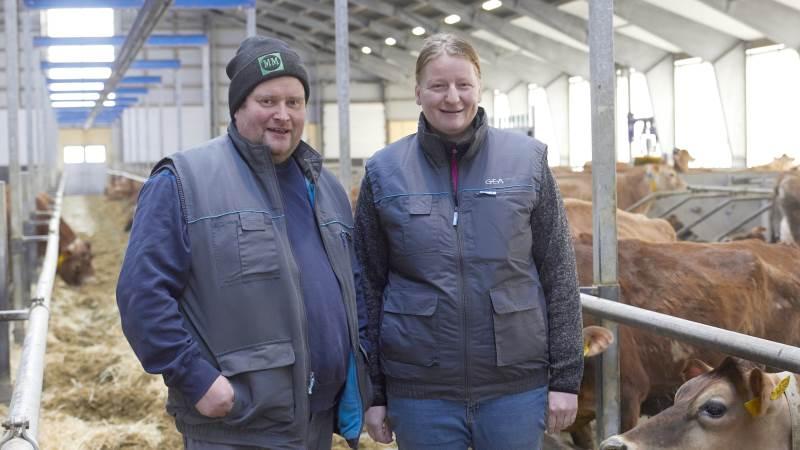 Efter en konkurs i 2015 var Charlotte og Peter Aage Jensen, Vendsyssel, ikke i tvivl. De ville i gang igen. Det har de nu været siden efteråret og driver Sillebak ved Flauenskjold, som de håber at kunne overtage om tre-fem år.