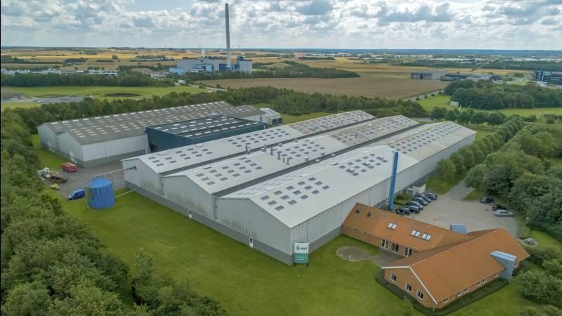 DSV Frø Danmark har på få år næsten fordoblet omsætningen og tidoblet overskuddet, og nu gøres der klar til at udvide produktion og lager i Holstebro. Foto: DSV Frø Danmark