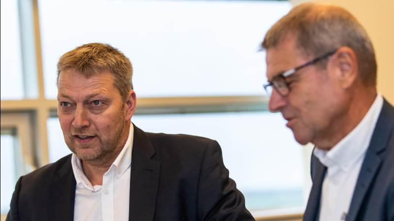 - Vi er meget tilfredse med, at Velas igen i år formår at generere et flot overskud, især i så omskifteligt et år, som 2020 har været, siger Nis Kristian Hjort (t.v.), bestyrelsesformand for Velas.