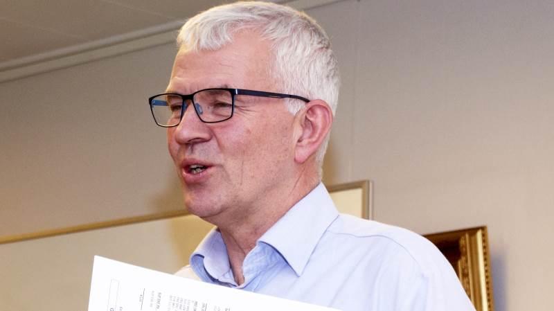 Direktøren for LRS, Børge Sørensen, glæder sig over overskuddet sidste år på over 4 millioner kroner, og at det i gennemsnit de seneste 13 år er blevet billigere at være kunde i Familielandbrugets rådgivningsvirksomhed.  Arkivfoto