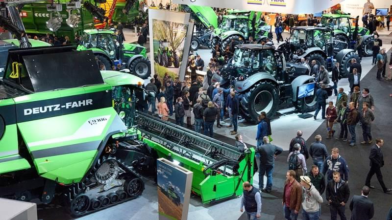 SDF-koncernen, der består af Deutz-Fahr, Same, Lamborghini og Hürlimann-traktorer, har besluttet ikke at deltage i internationale udstillinger i 2021. Det betyder at den store maskinleverandør ikke deltager på hverken Eima- eller Agritechnica-udstillingerne. Arkivfoto