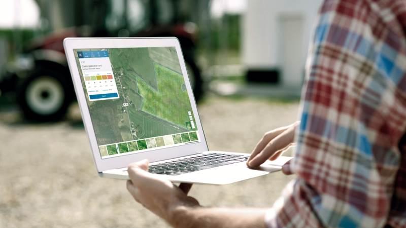 Værktøjet visualiserer biomassen på marken, hvilket gør det nemt at optimere kvælstofstildelingen. Foto: Yara