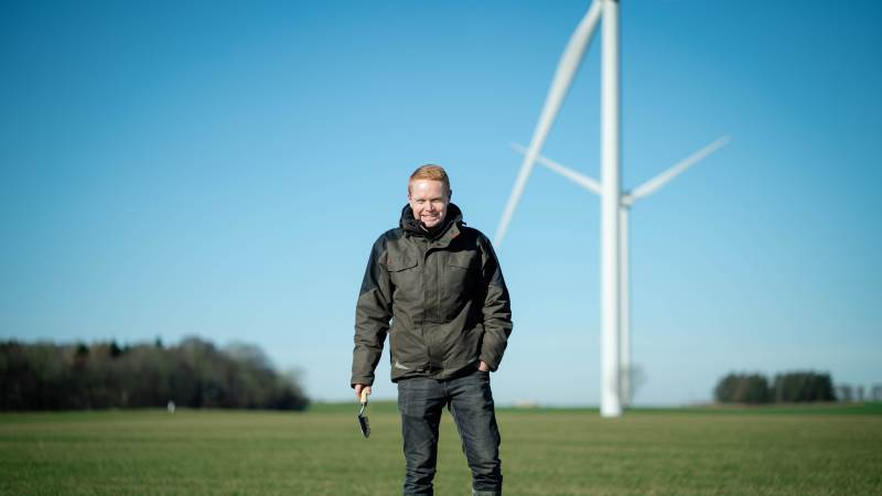 Lasse Niebuhr er driftsleder på Ødemark Gods, hvis hovedaktivitet er drift af landbrug på ca. 1.149 hektar inkl. forpagtninger. Foto: Yara