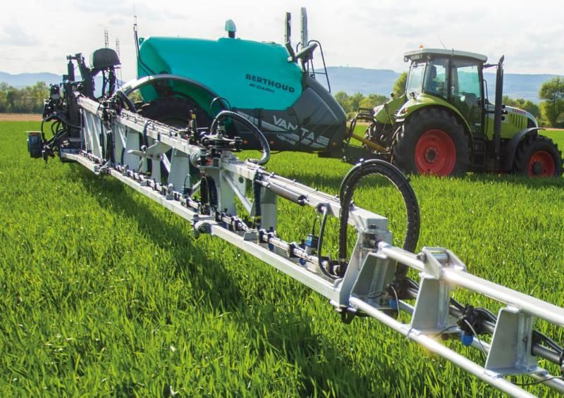 Berthoud Vantage trailersprøjter afløser den velkendte Tenor sprøjte og bemærker sig ved nye elektroniske funktioner.