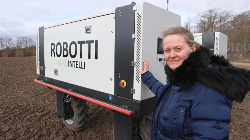Karen-Marie Katholm er nu den nye bestyrelsesformand hos den danske landbrugsteknologivirksomhed Agrointelli. Foto: Agrointelli