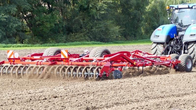 Kunderne har igen i 2020 fortsat i stor stil købt landbrugsmaskiner af mærkerne Horsch og Annaburger, som WekoAgro har importeret siden 2000. Arkivfoto