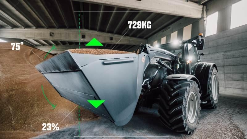 Valtra har netop lanceret en ny app, som gør det muligt at veje materialet i frontlæsseren på traktorer i G-, N- og T-serien med SmartTouch-armlæn.