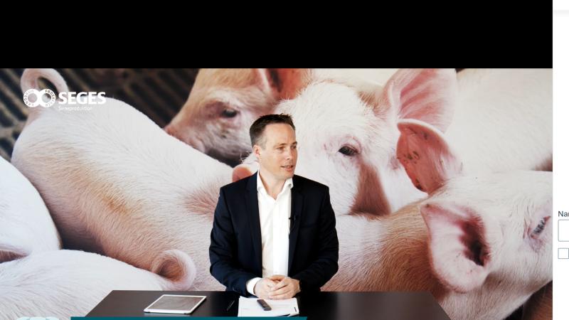 Da sektordirektør Christian Fink Hansen, Landbrug & Fødevarer Svineproduktion, tirsdag bød velkommen til årets So-seminar, kom han også ind på de udfordringer, der aktuelt er i branchen. Fotos: Camilla Bønløkke
