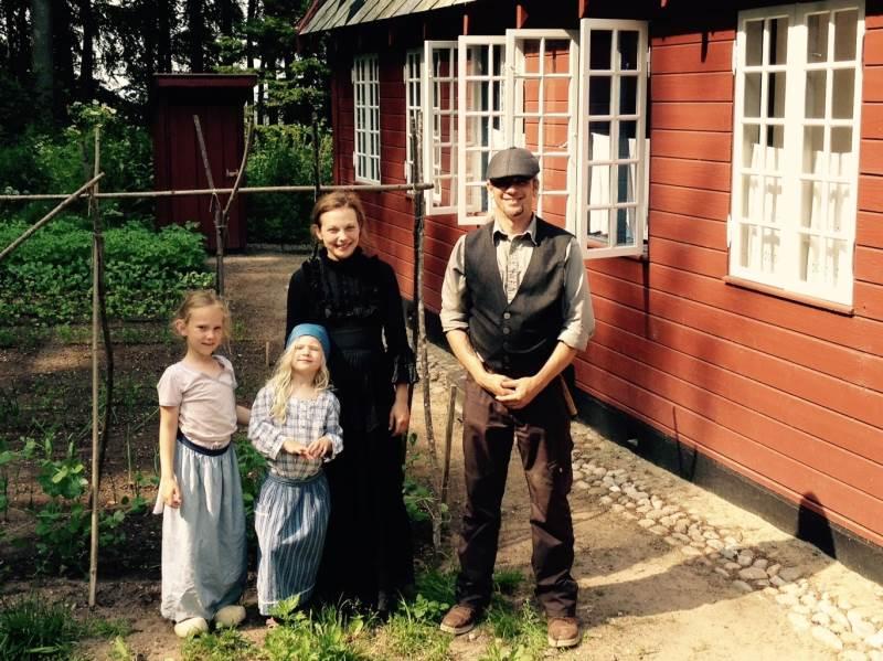På det nordlige Djursland kan man holde ferie i et lille skovarbejderhus og prøve kræfter med livet på landet for knap 100 år siden. Foto: Gammel Estrup Danmarks Herregårdsmuseum