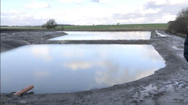 Frem til den 14. september er det nu igen muligt at søge om støtte til at anlægge et minivådområde.
