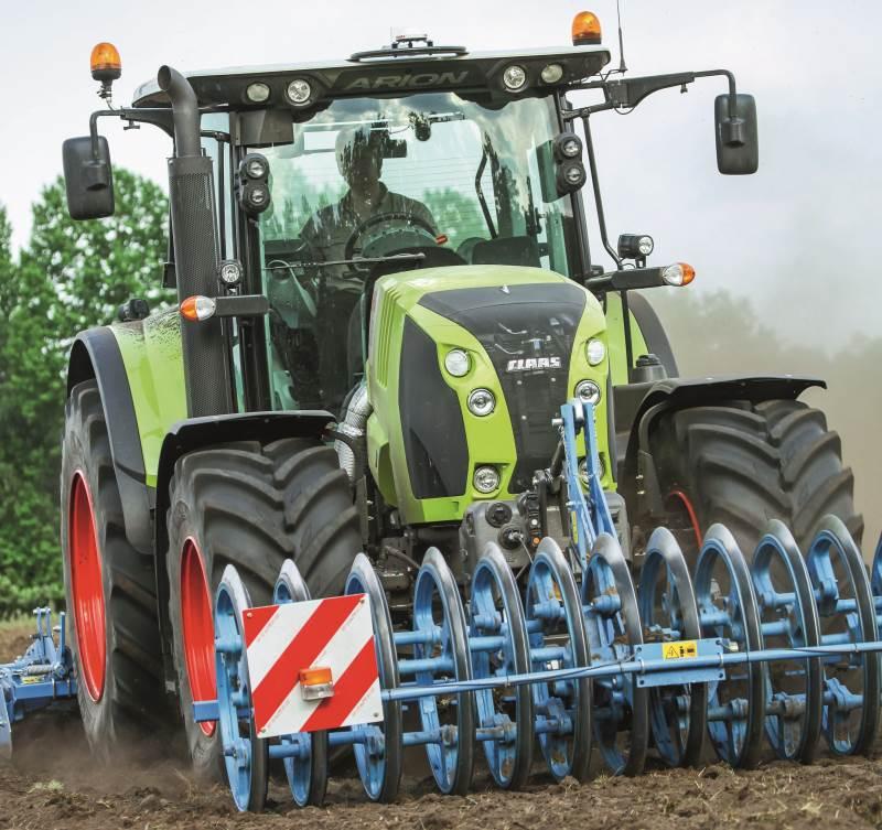 Danish Agro Machinery tilbyder nu 500 timers eller seks måneders ret til at annullere købet af ny Claas-traktor i en ny »Try and Buy«-kampagne, der startede den 19. april. Arkivfoto