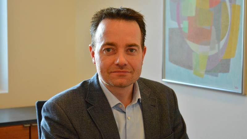Palle Rask Sørensen, chefen for det nye landbrugscenter.