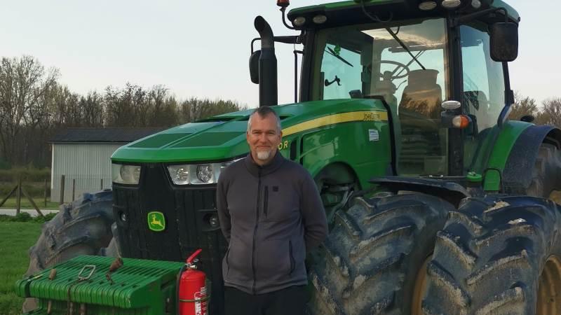 Ole Hjelm er fra Nordjylland og har siden 2019 været markchef for Firstfarms' markbrug i både Tjekkiet og Slovakiet. Han er det kommende års tid Global-føljeton-vært her i Effektivt Landbrug. Fotos: Firstfarms