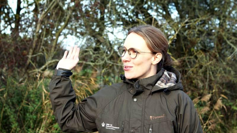 Miljøminister Lea Wermelin (S) glæder sig over at kunne byde danskerne indenfor i nye nationalparker, blandt andet ved Stråsø Plantage og ved Tranum. Foto: Lasse Ege Pedersen