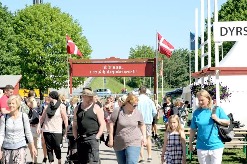 Portene til Roskilde Dyrskue bliver næppe åbnet i år, så vi ses først på dyrskuepladsen næste år. Arkivfoto: Jesper Hallgren