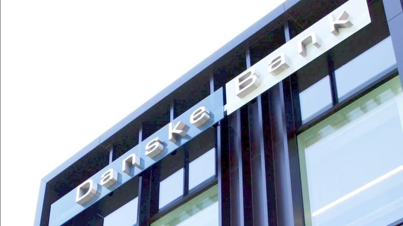 Danske Bank-aktien banker fortsat på i opadgående retning. Arkivfoto