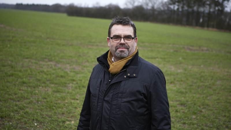 Det er skuffende, at pengene til udtagning af lavbundsjorde i landbruget skal tages fra EU-midlerne, mener Centrovice-formand Torben Povlsen. Foto: Erik Hansen