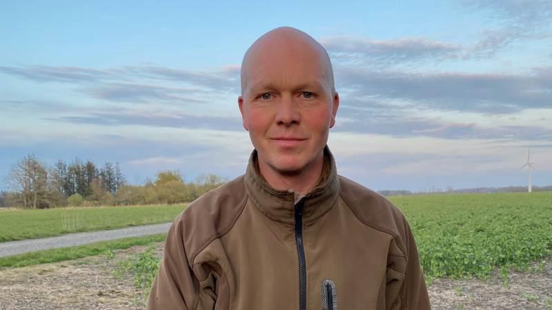 Michael Bundgaard er medejer gården Klitgård nær Ulsted i Vendsyssel. Privatfoto.