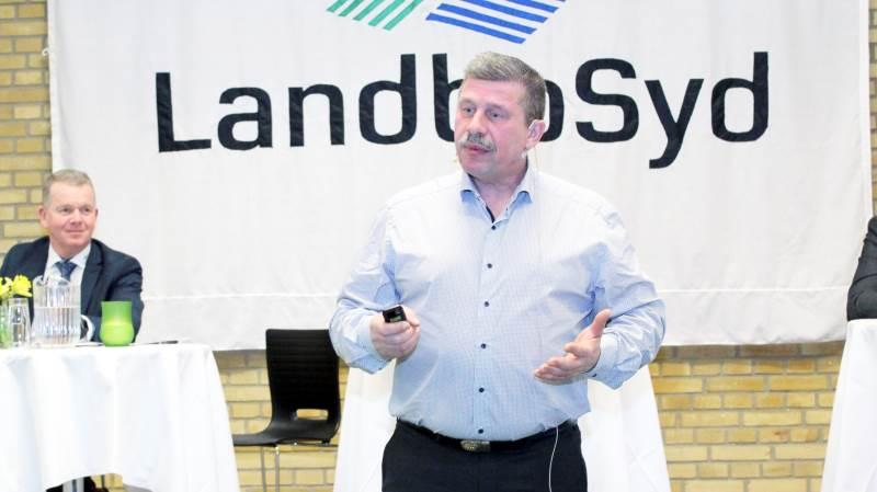 Formand for LandboSyd, Mogens Dall.