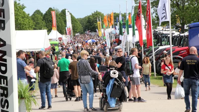 Sidste gang, der var dyrskue i Roskilde, var i 2019, hvor over 130.000 mennesker fandt vej til dyrskuepladsen. Foto;: Jesper Hallgren
