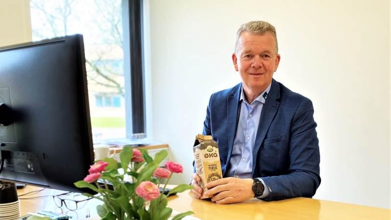 Anders Andersen, udviklingschef hos SLF, har masser af ros til mejeriselskabet Arla for initiativet med via certifikater, at købe grøn strøm af sine andelshavere – landmændene.