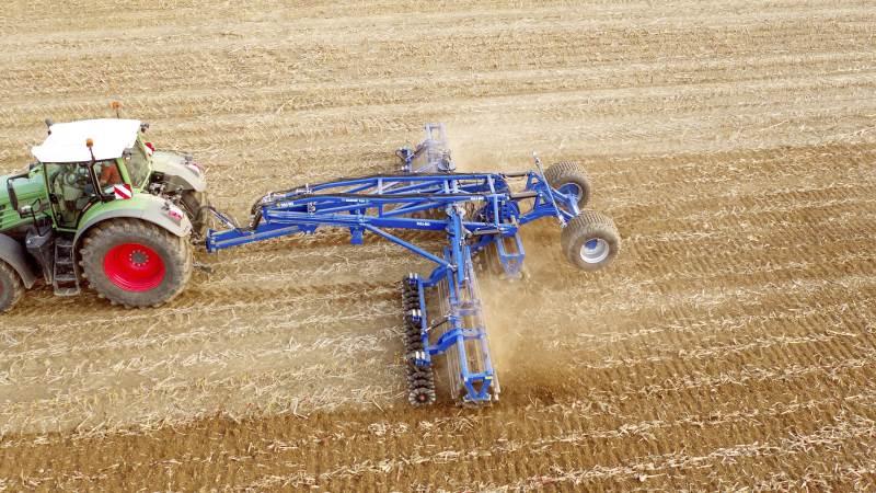 Hos redskabsproducenten Dalbo har man trods manglende landbrugsmesser formået at tredoble årsresultatet i 2020 sammenlignet med 2019. Alligevel er man i firmaet bekymret for de stigende råvarepriser. Arkivfoto