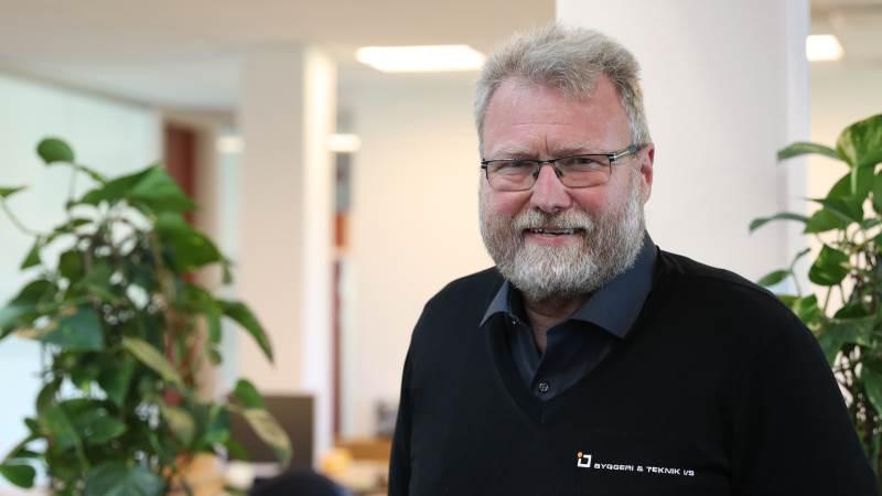 Helge Kromann er kvægstaldsrådgiver hos Byggeri og Teknik I/S.