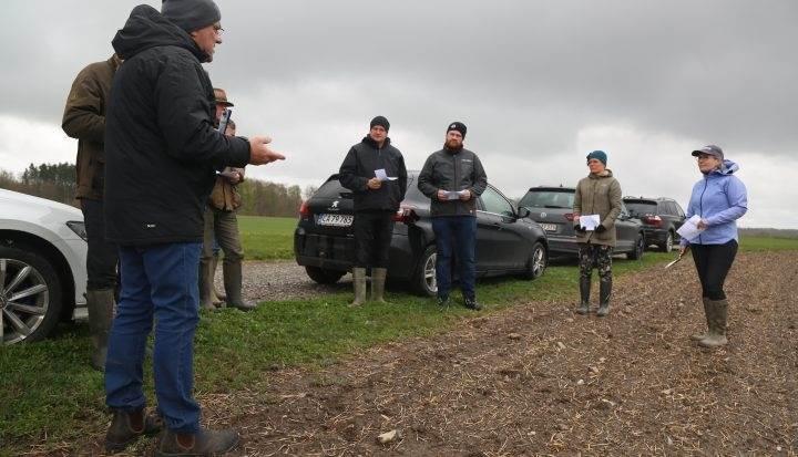 Første møde i erfagruppen for roer gik over al forventning. Foto: Østdansk Landboforening