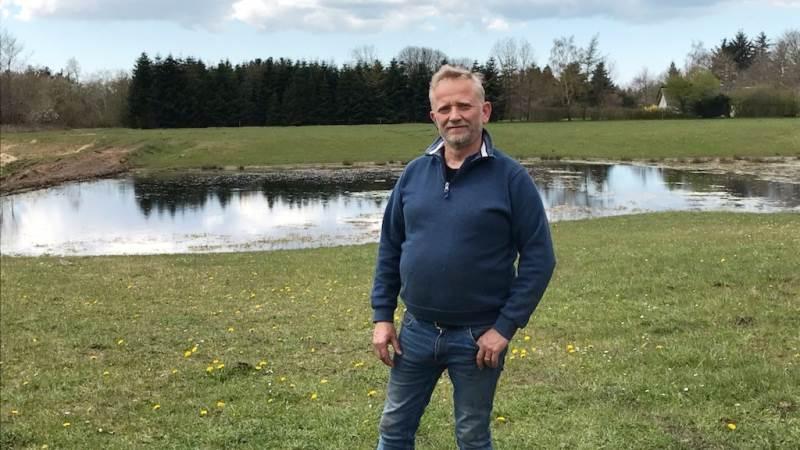 - Vi synes, det er vigtigt, at det er rart at komme i marken, og så har vi skabt biodiversitet der, hvor jorden egner sig til det, siger landmand Preben Lauridsen.