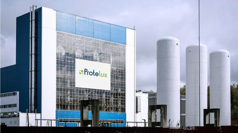 Det er på dette anlæg, at Unibios bæredygtige protein skal produceres i Rusland. Foto: Unibio / Protelux