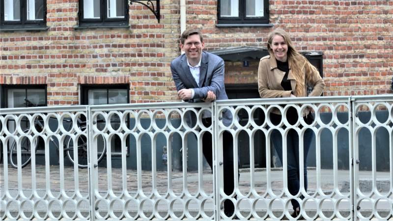 Simon Haldrup og Ida Boesen, henholdsvis direktør og stifter af Commoditrader, lukker ved udgangen af denne måned for den første runde, hvor landmænd af virksomheden kan få udarbejdet klimacertifikater.
