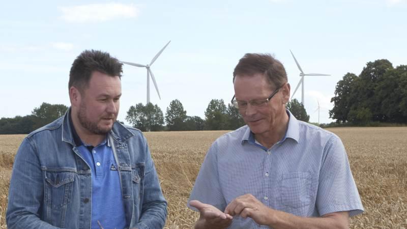 Erling Bonnesen og Anders Kronborg står ikke lige så samlet som på dette billede, når det kommer til brugen af de grønne ordninger i EUs landbrugsstøtte.