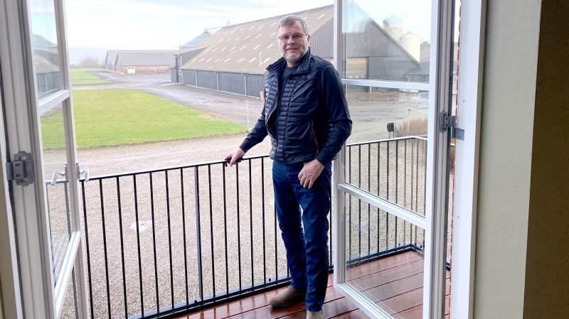 Svineproducenten Poul Uhrenholdt Jensen, der eksporterer omkring 120.000 smågrise om året, bakker helhjertet op om European Proteins forsøg med fermenteret foder.