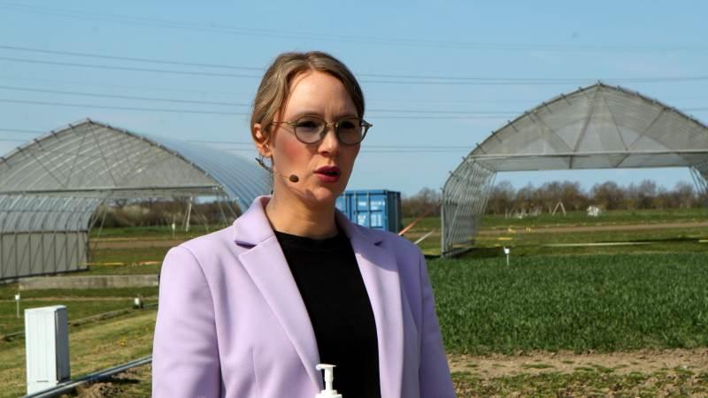 Miljøminister Lea Wermelin har oplyst Folketinget om, at Aarhus Universitet har fundet en regnefejl, som har betydning for målsætningen om 24 procents reduktion af ammoniakudledningen. Foto: Lasse Ege Pedersen