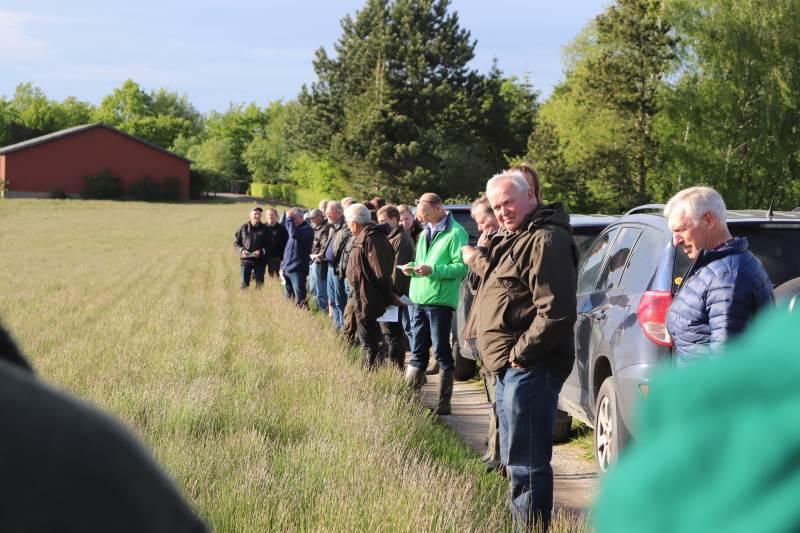 Over 60 deltagere var tilmeldt markturen på Boderupgaard på Falster. Foto: Jørgen P. Jensen