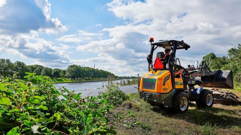De hollandske GIANT-læssere er blevet populære i de nye eldrevne versioner – både indenfor entreprenør- som landbrugsbranchen.